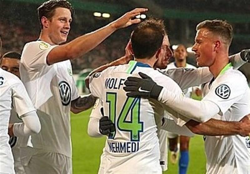 فوتبال دنیا، ولفسبورگ و هرتابرلین به دور سوم جام حذفی آلمان راه یافتند