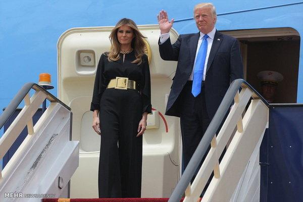 ترامپ وارد رُم شد