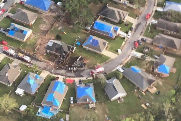 سقوط هواپیمای نیروی دریایی آمریکا در آلاباما ، 2 تن کشته شدند